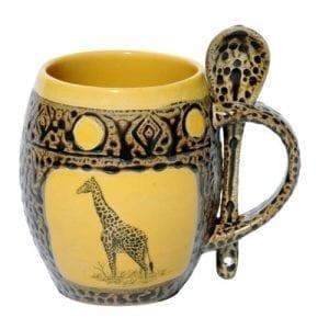 bd9cbca1746 16 oz Light Blue Large Bistro Mug Ceramic Coffee Tea Glass Cup Keep ...