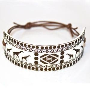 Tribal Giraffe Bracelet